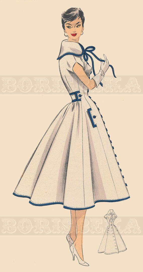 Vintage Sewing Pattern | Style Duds Vintage | Pinterest | Moda ...