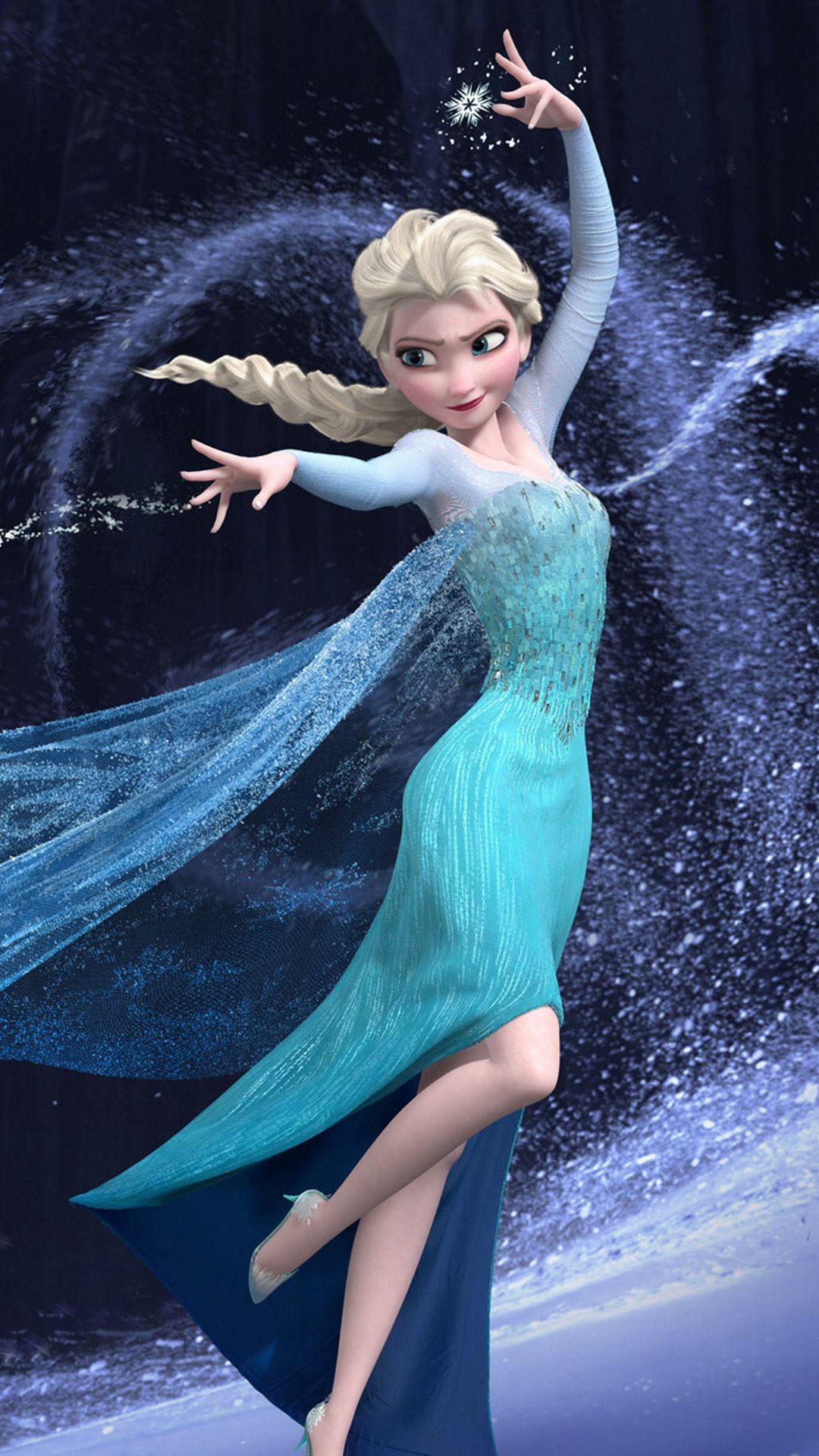 Movies Ice Princess Turquoise Cartoon Frozen Pretty Beautiful Cute Elsa Cold Snow HD IPhone 6 Plus Wallpaper