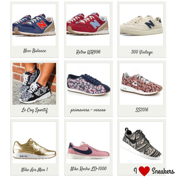 zapatillas nike mujer primavera verano 2016