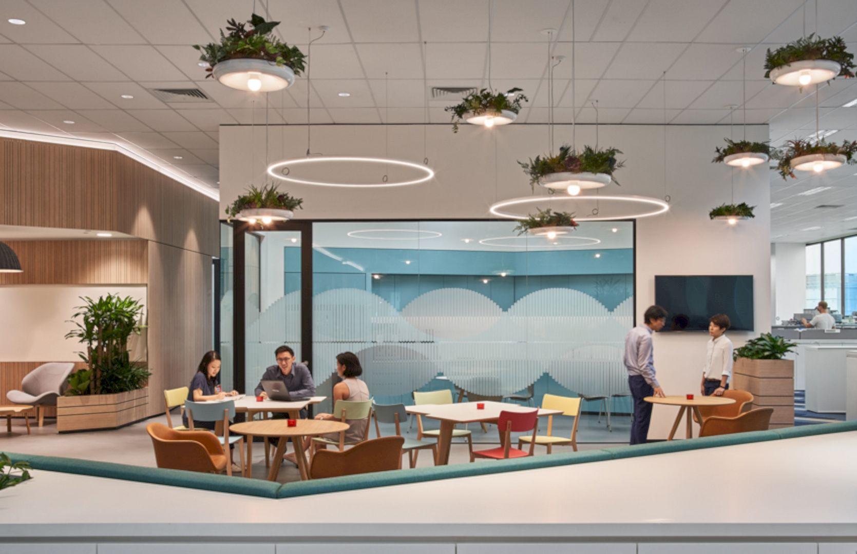 Sivantos Singapore A Company S New Headquarters Interior With A
