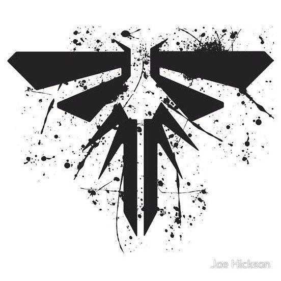 Tattoo Firefly Symbol From The Last Of Us T Shirt Design Click To See More Fazer Uma Tatuagem Vagalume Tatuagem Tatuagem