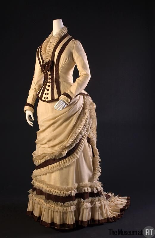 Afternoon Dress 1880