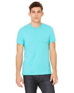 f6797afe Bella + Canvas Unisex Jersey Short Sleeve T-Shirt 3001C Teal ...