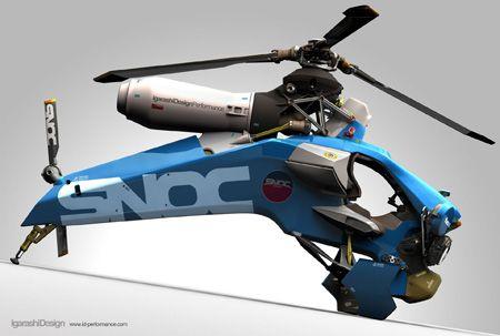 Igarashi personal helicopter.
