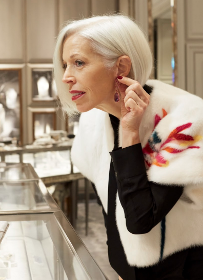 Inside the Jewelry Salon with Linda Fargo Bergdorf goodman