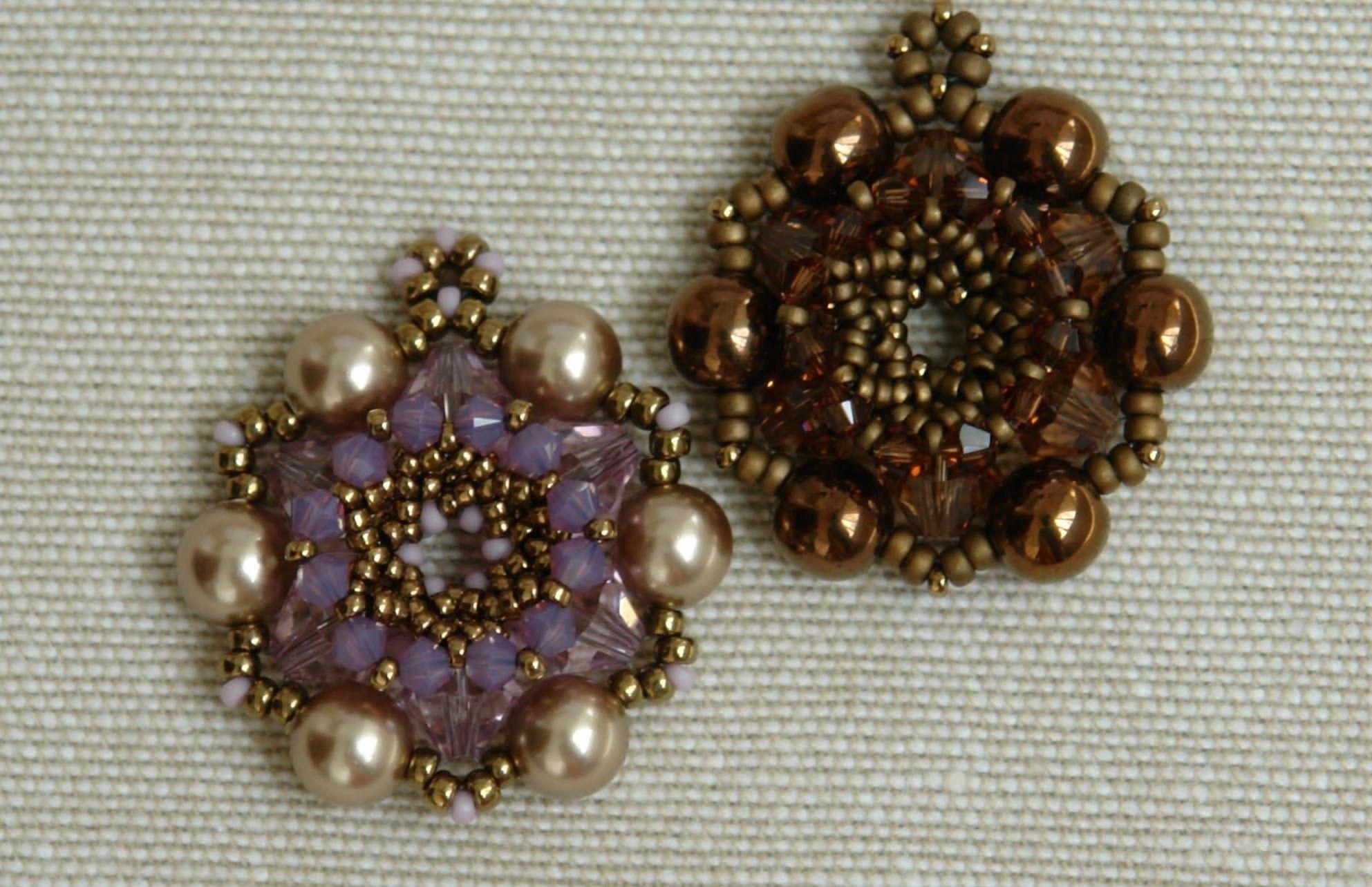 Sidonia's handmade jewelry - In Blossom Pendant tutorial