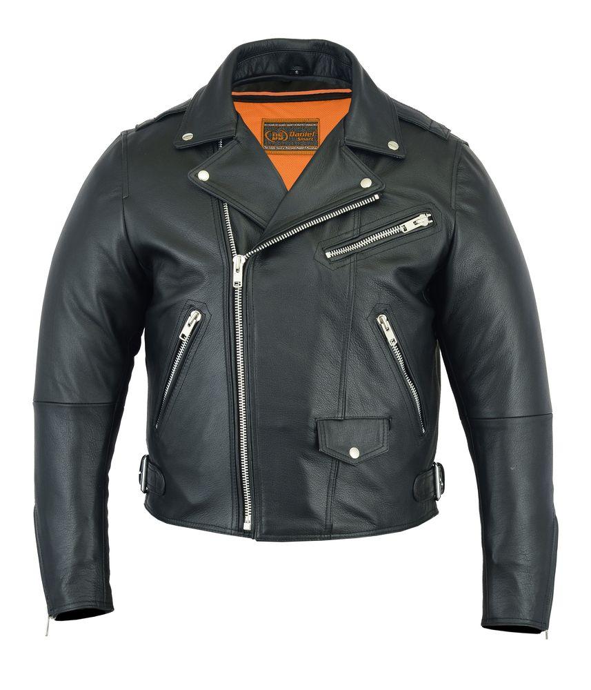 Schott NYC Classic Perfecto Leather Motorcycle Jacket