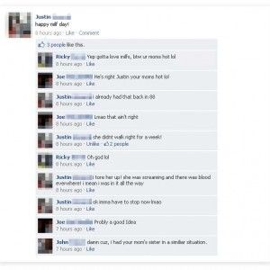 Funny Facebook Status Mothers Day