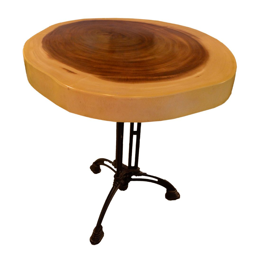 T21 Round Dining Table Suar d70The Suar Wood Table reveals a