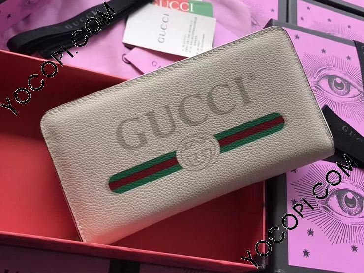 low priced 127a7 c7cde 496317 0GCAT 8820】 GUCCI グッチ プリント 長財布 コピー ...
