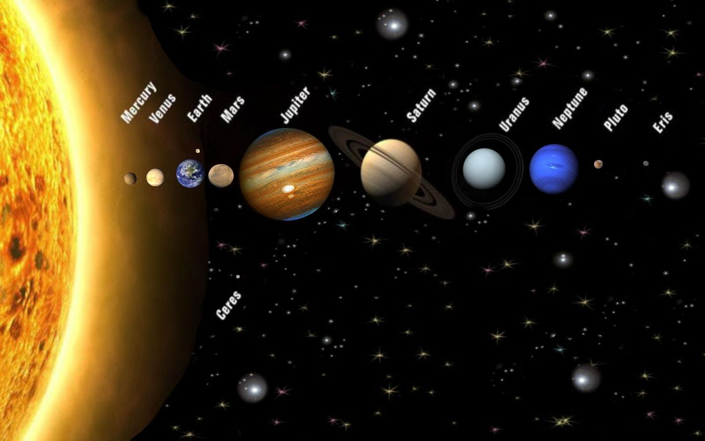solar system vertical line pics about space - HD1440×900
