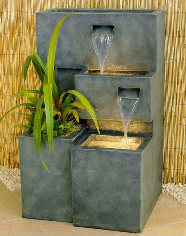 15 Designs Of Planter Water Features Water Features In The