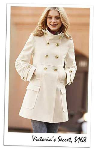 Winter White Pea Coats