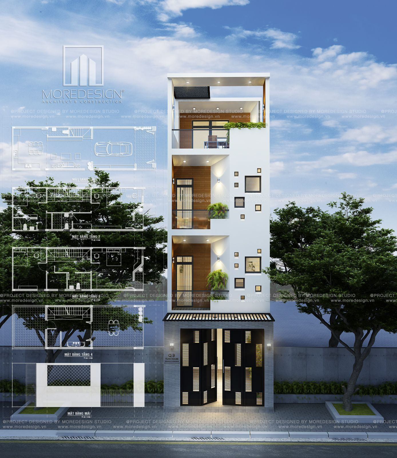 Mda City Apartments: Q9 HOUSE Architecture Designed By MDA Architects