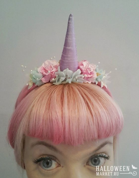 ** UNICORN INSTANT DRESS UP SET HEADBAND /& TAIL PINK NEW ** FANCY DRESS