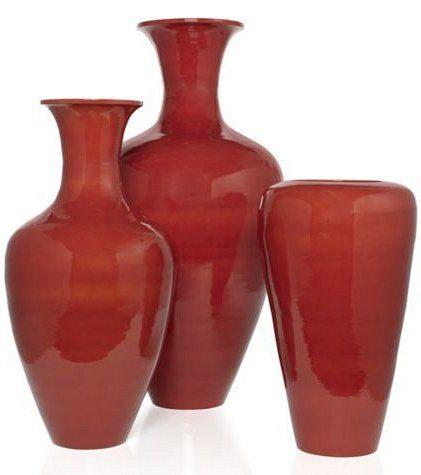 Vases Burnt Orange Glam Living Room Pinterest Glam Living
