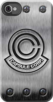 Dragon Ball Z Capsule Corp Logo With Steel Bandage image