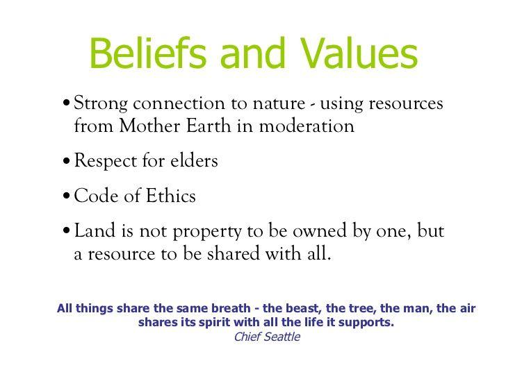 Native American values | Native American | Native american