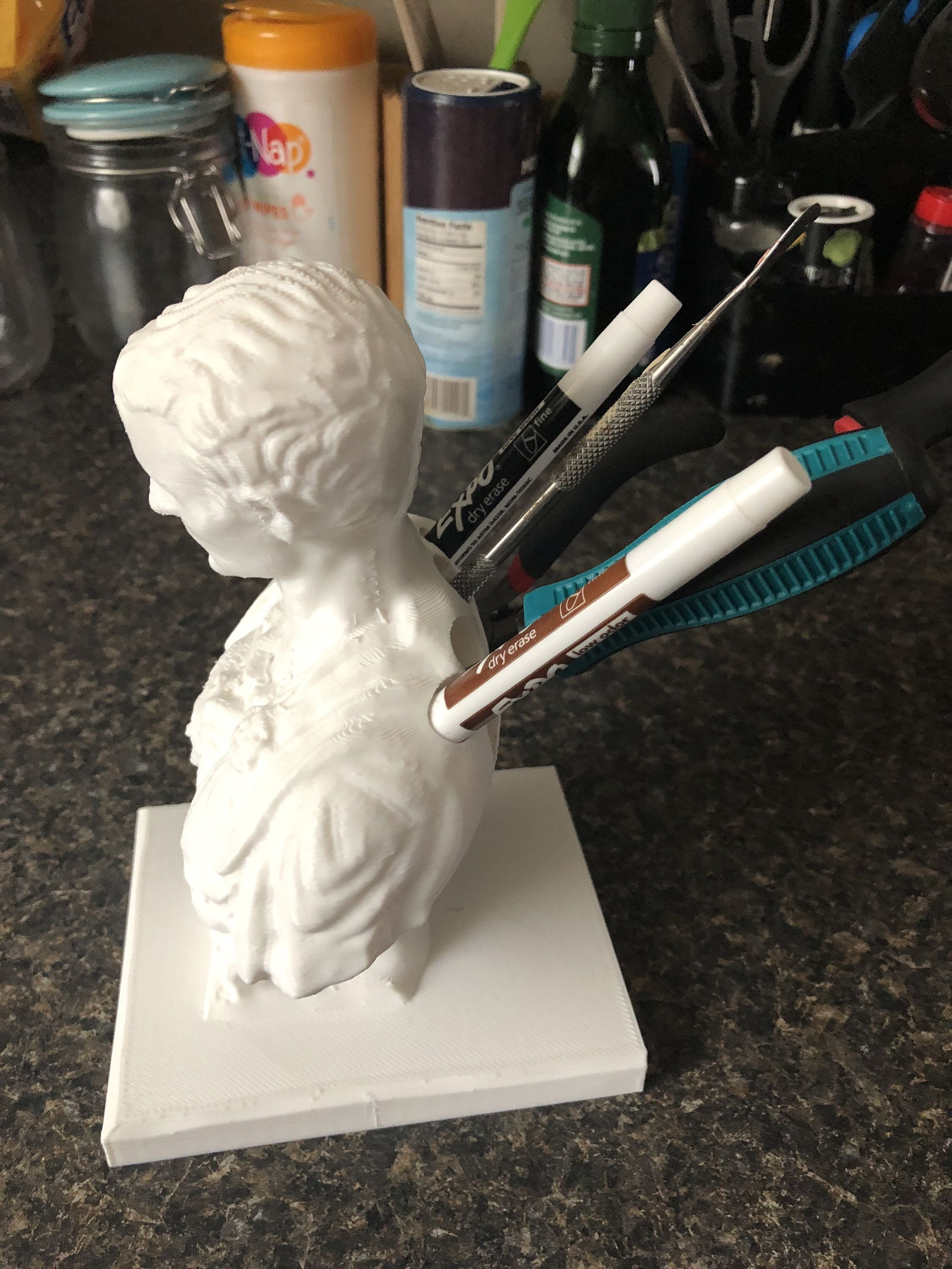 Julius Caesar Pencil Holder Amusing Julius Caesar Pencil Holder  Pen Holder  Apple Pencil Holder Design Inspiration