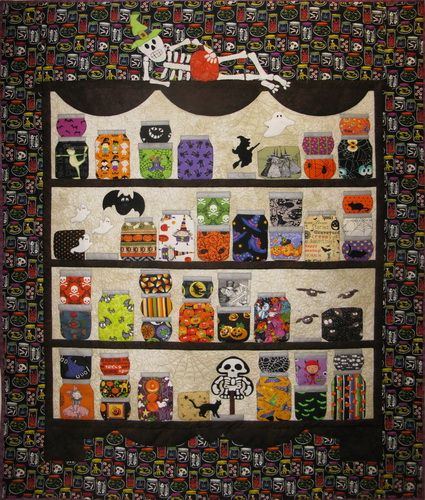 Halloween Kickoff (MooseStash Quilting)