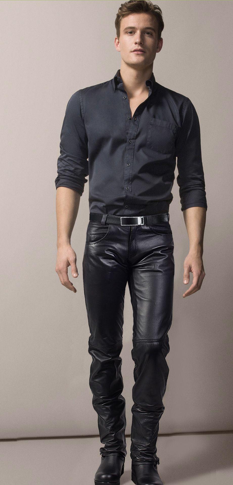 On Leather (mit Bildern) | Lederhose herren, Schwarze