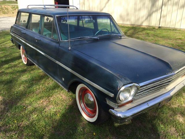 1963 Chevrolet Nova Chevy Ii Nova Station Wagon Ebay Motors