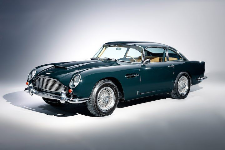 1965 Aston Martin DB5 Vantage  Lefthand drive restored in late