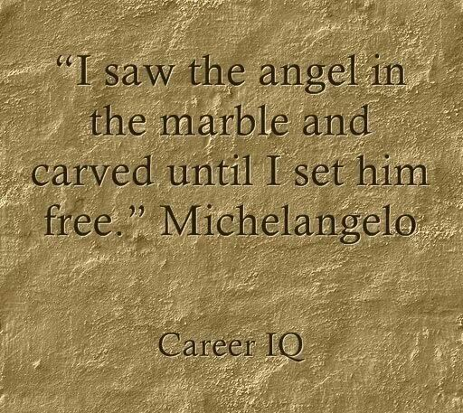 Michelangelo Quotes Gorgeous Michelangelo Quote Amazing Quotes I Love Pinterest  Life