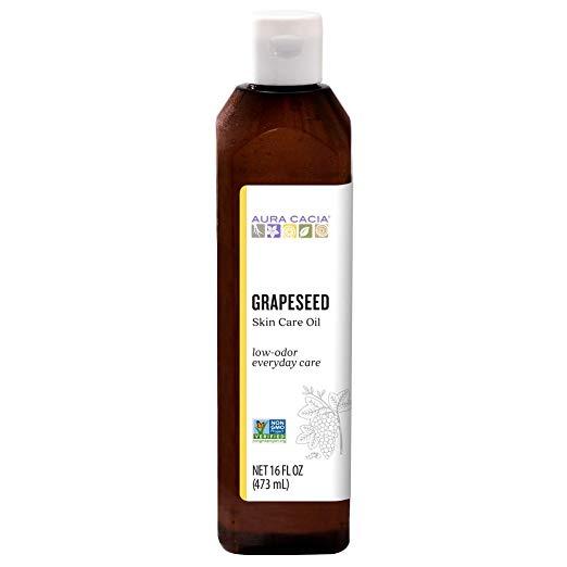 Amazon.com: Aura Cacia - Pure Grapeseed Oil | Non-GMO ...