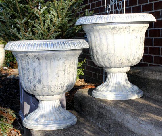 Urn Planter Lightweight Planter For Porch Garden Indoor Outdoor