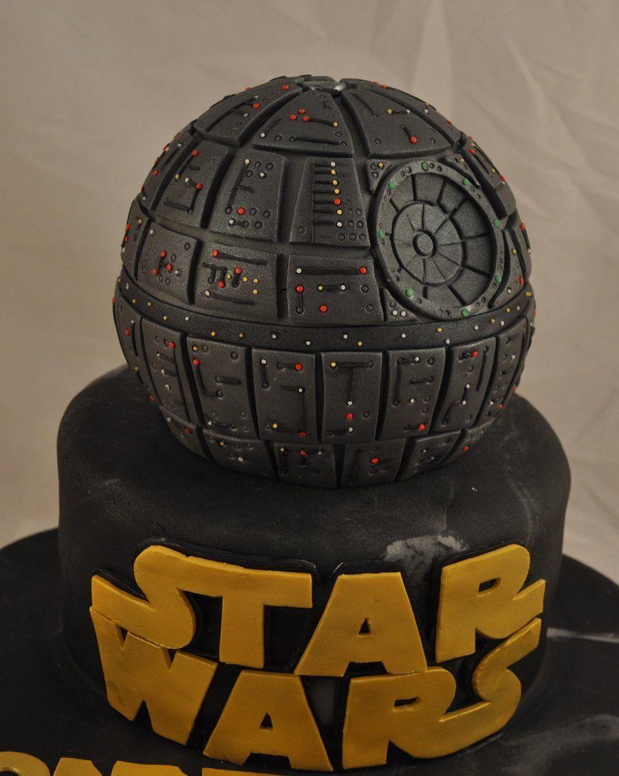 Star Wars Death Star Cake in 2020 Death star cake, Star