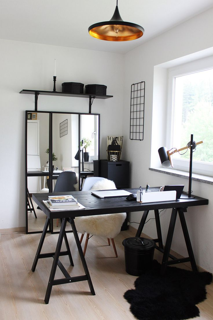 Homestory HomeOffice mit Ikea, Voga und Eames Projekty