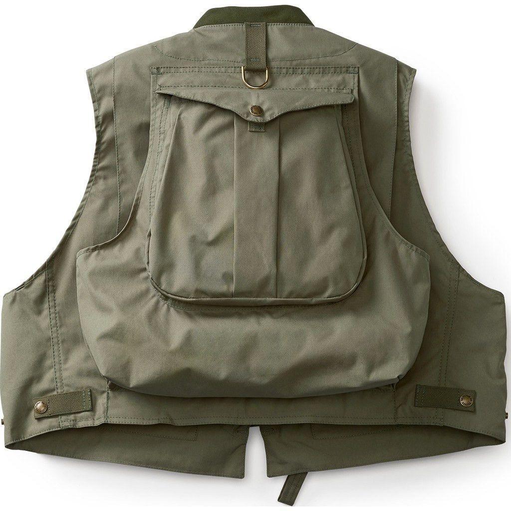 Filson Fly Fishing Guide Vest Green Fishing Vest Fly Fishing Vest