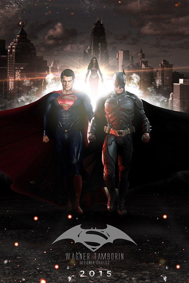 Wagner Tamborin Batman Superman Iphone 4s Wallpapers Superman