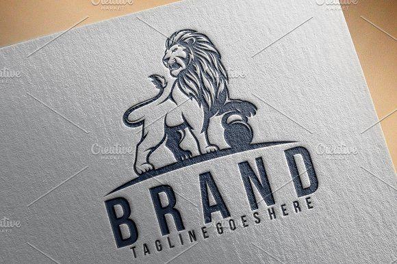 Lion Fitness Logo Fitness Logo Logo Design Template Logo Templates