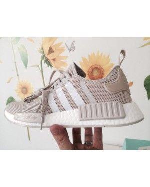 adidas nmd r1 talco crema biancastra s76007 moda scarpe femminili