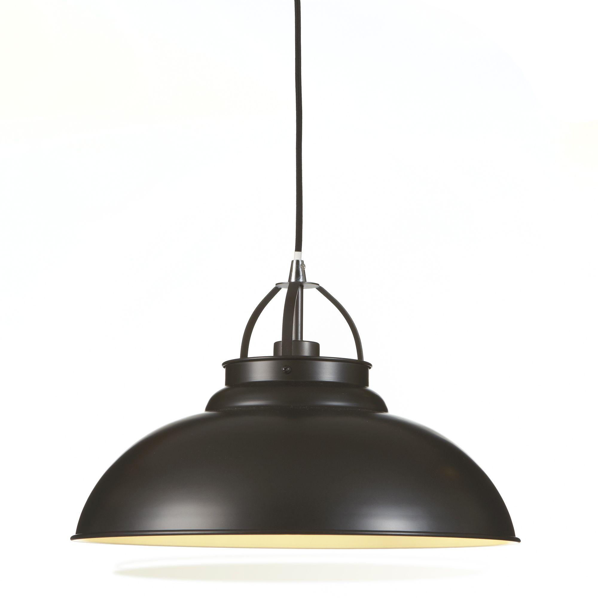 suspension 1 lumi re gris hamois les suspensions. Black Bedroom Furniture Sets. Home Design Ideas