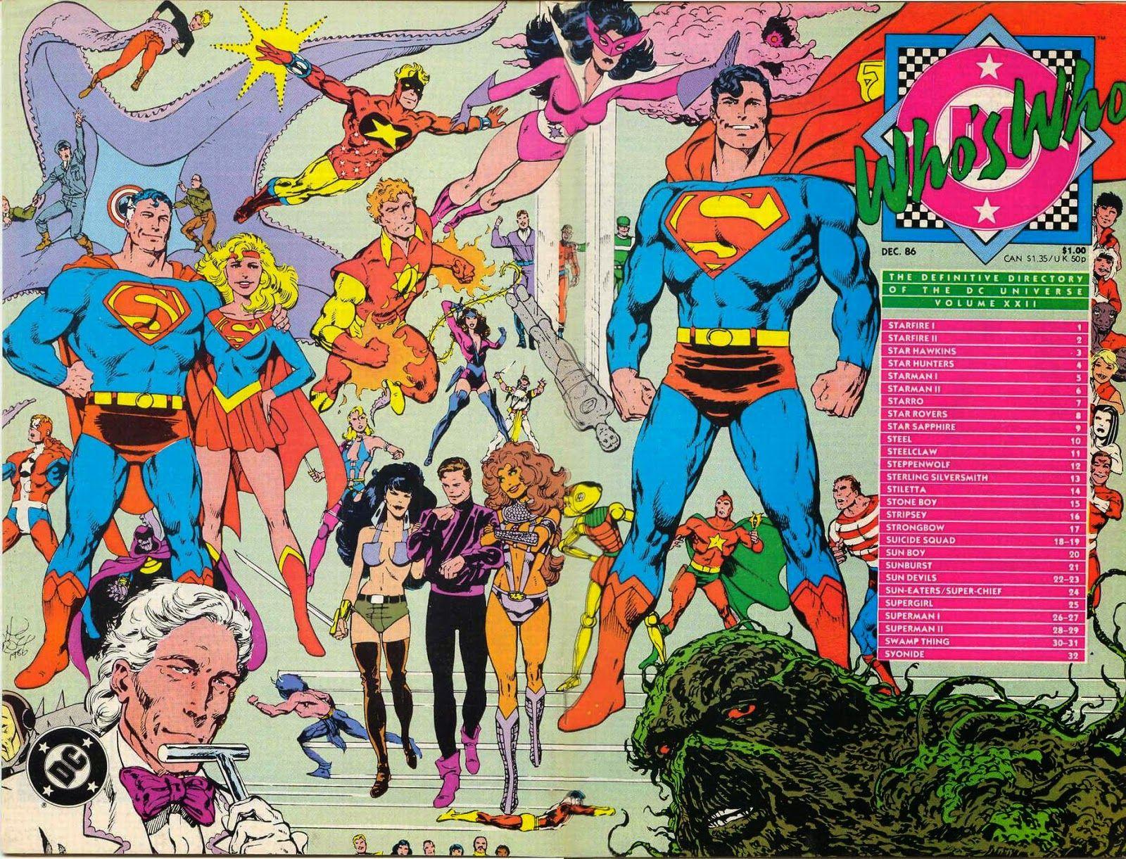 Who S Who 22 By John Bryne Comic Book Superheroes Wonder Woman