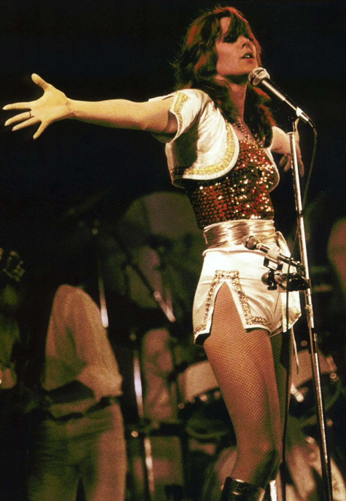 Frida of ABBA, '77 tour