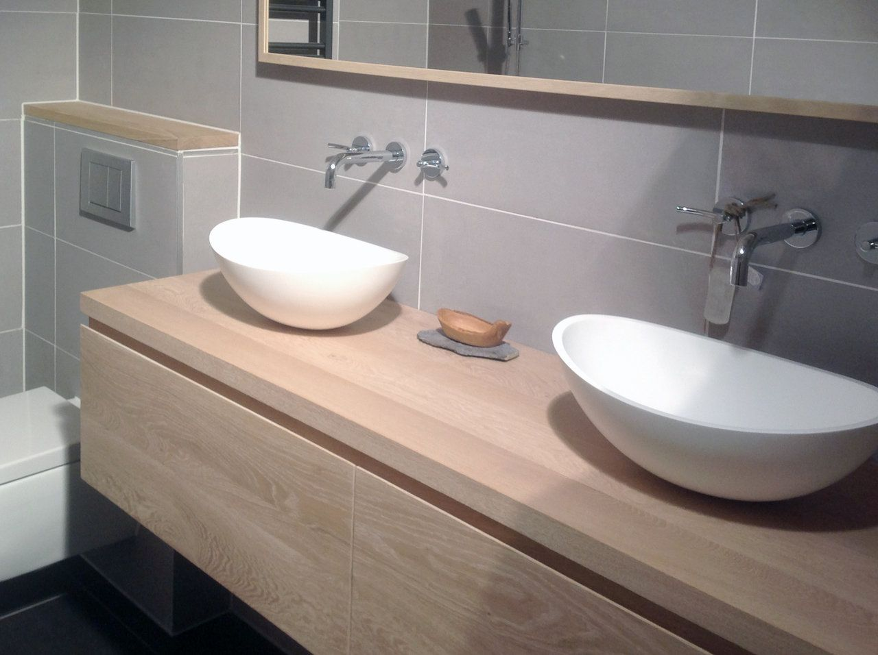maatwerk badmeubel type dordogne sanitair pinterest badkamer