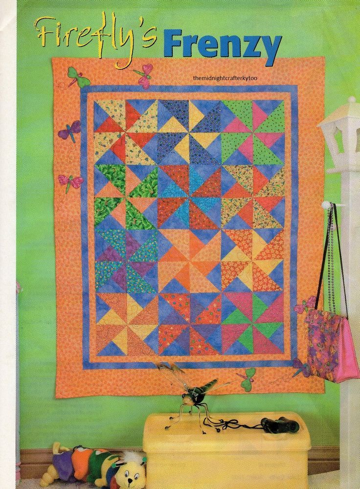 Sun Cycle Quilt Pattern Pieced//Applique EB