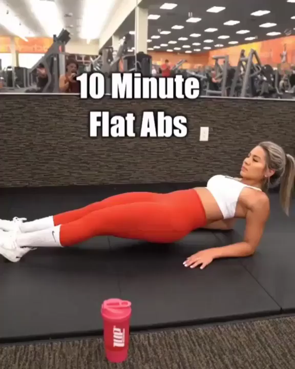 Tone your abs with this quick, 10-minute workout. No equipment is needed — just get ready to engage...