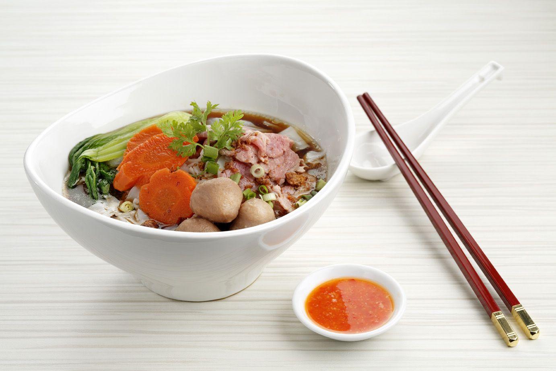 Meltique Beef Kway Teow Soup  Download Menu: http://bit.ly/ToTTbistro