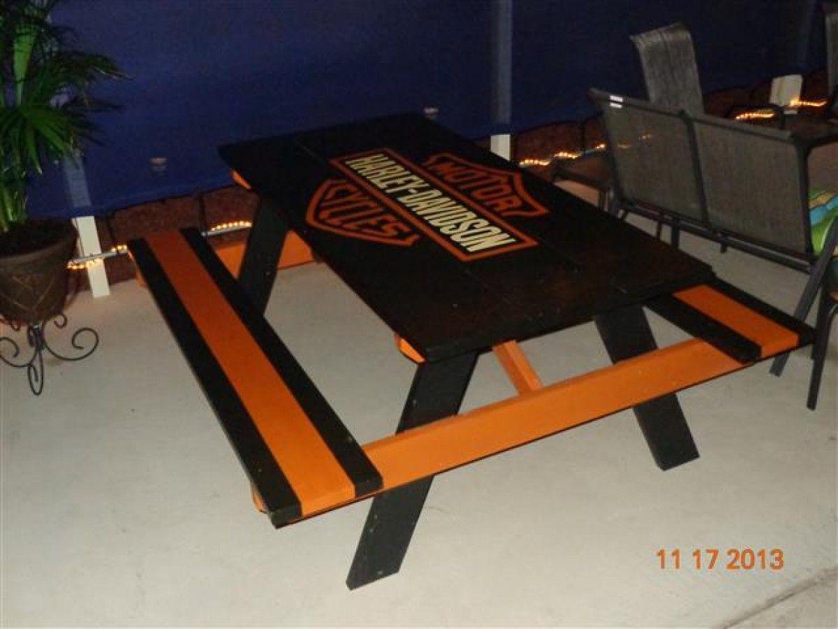Harley Davidson Patio Furniture