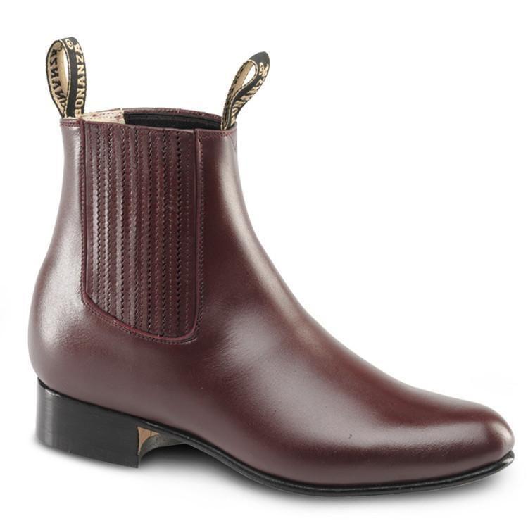93357196dc BA-100 - Bonanza Leather Charro Boots