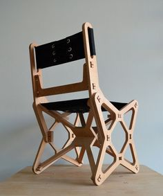 Electron Chair A Waste Free Flat Pack Furniture Solution Core77 Flat Pack Furniture Cnc Furniture Creative Furniture