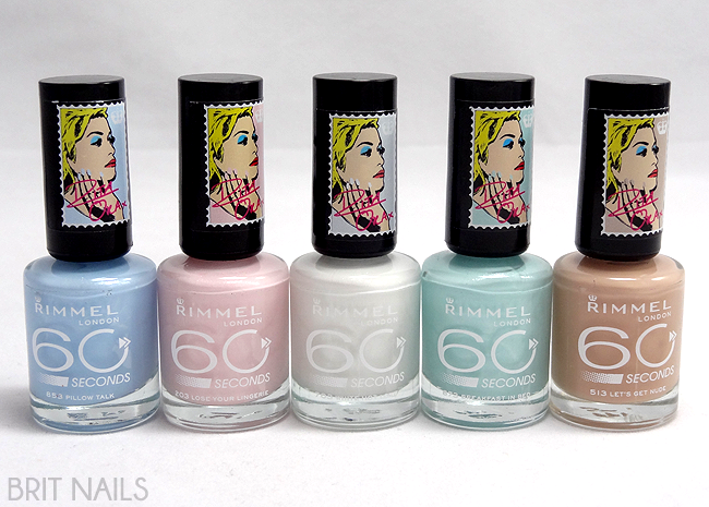 Nail Polish Rimmel London By Rita Ora