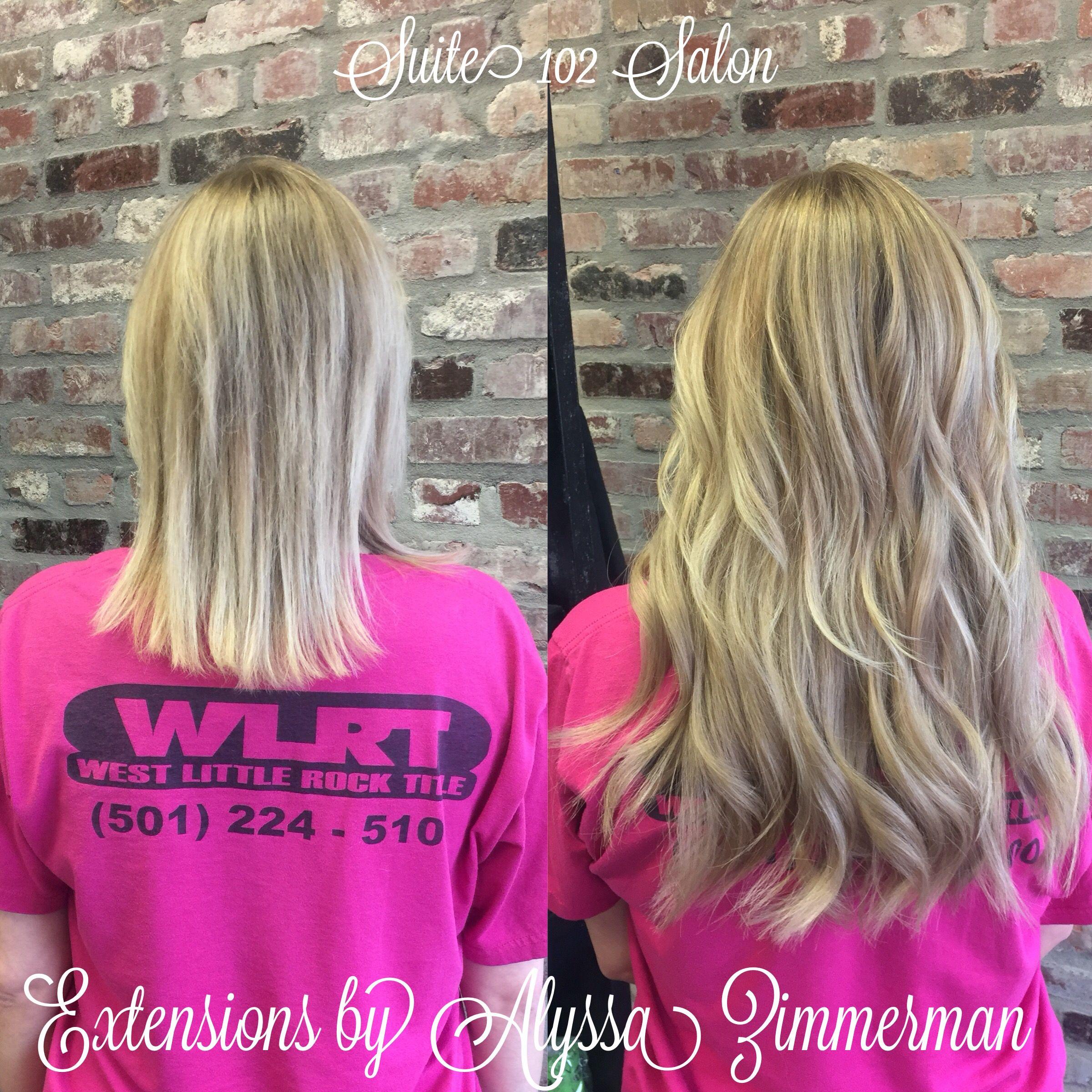 Hair Extensions Little Rock Arkansas Alyssa Zimmerman Suite 102