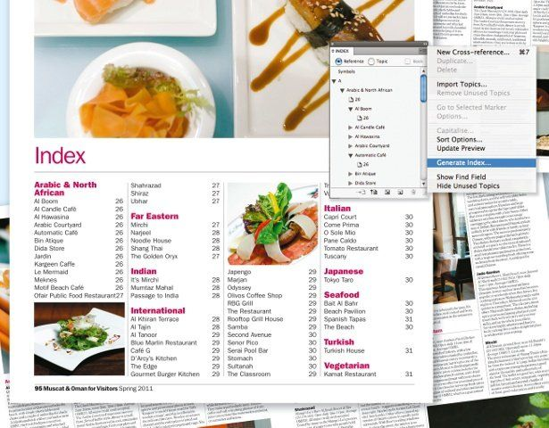 Design a simple index with InDesign | Tutorial | Computer