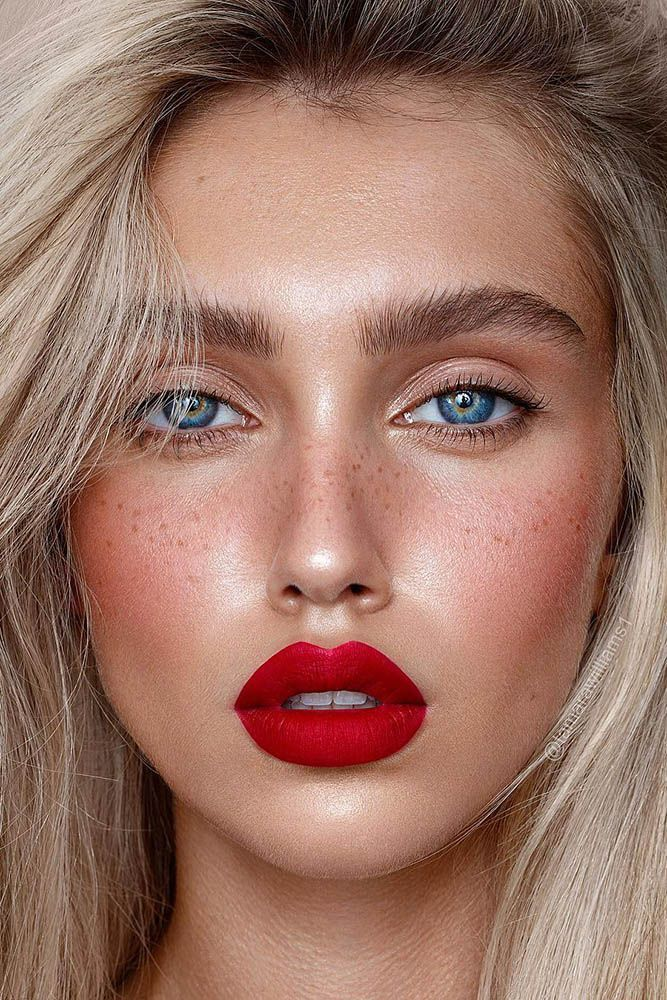 Wedding Makeup 2020 Trends | Wedding Forward - Makeup with red lipstick - #Lipstick  withredlipstick #Red #trend #style #shopping #styles #outfit #pretty #girl #girls #beauty #beautiful #me #cute #stylish #photooftheday #swag #dress #shoes #diy #design #fashion #Makeup